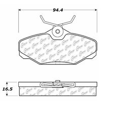 105.06100 - Centric Posi-Quiet Ceramic Disc Brake Pad Set W/HDW Free Shipping!