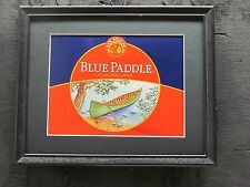 NEW BELGIUM BLUE PADDLE  BEER SIGN   #605