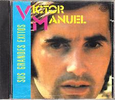 CD VICTOR MANUEL sus grandes exitos SPAIN 1988