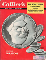 1955 Colliers March 18 - Bill Russell; Sorry State of Nevada; Jackie Gleason;