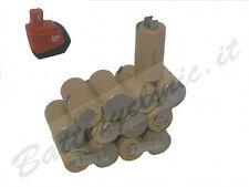 Batteria per trapano Hilti SFB155 15.6 V Ni-Mh 3000 mAh. kit AUTO INSTALLAZIONE