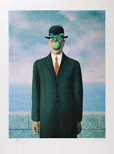 René Magritte - Son of Man (signed & numbered lithograph)