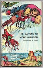 IL BARONE DI MUNCHHAUSEN illustrato da Gustave Dorè Universale Economica 1950