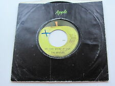 THE BEATLES  1970s  USA  APPLE   45   WE CAN WORK IT OUT