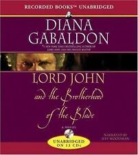 Lord John and the Brotherhood of the Blade by Diana Gabaldon, cd, NEW