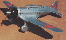 1/6 Scale Japanese WW-II Mitsubishi Ki-15 Babs Plans,Templates,Instructions 75ws