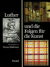 Hofmann, Luther U conseguenze F arte, hamburger arte Halle, Prestel LINO INDIR 1983