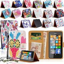 Pour diverses Nokia 1/2/3/5/6/7/8/9 Téléphones-Cuir Smart Stand Wallet Cover Cas...