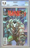 Batman #23.4 CGC 9.8 White Pages 2132796016 Bane #1, 3-D Lenticular