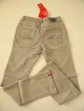 EDC by Esprit pantalon jeans gris cl stretch taille basse ajustable 176cm 16 ans