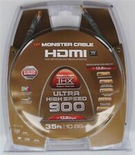 Monster Cable Ultra High Speed 900 HDMI Cable 35 FT 1080p 120 hz 13.8 GBps