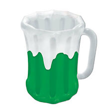 Inflatable Green Beer Mug Cooler