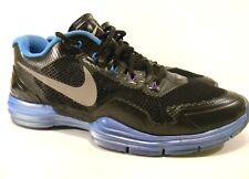 Nike 531975 004 Lunar TR1 Black Blue White Men's Running Shoes Size 12 US