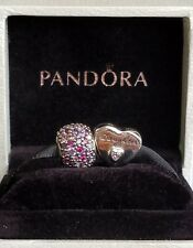 PANDORA Daughter's Love Charm  791726PCZ & Multi Pave Lights silver 791261ACZMX