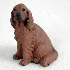 IRISH SETTER TINY ONES DOG Figurine Statue Resin Pet Lovers