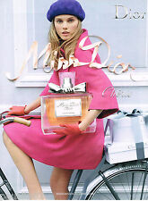 PUBLICITE ADVERTISING 065  2010  DIOR   parfum MISS  CHERIE