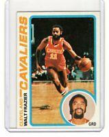 1978 TOPPS VINTAGE BASKETBALL CARD # 83 - HOF WALT FRAZIER - KNICKS / CAVALIERS