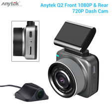 Anytek Q2 Dual Channel Wifi Car Dashboard Camera Video Recorder w/ Parking Mode
