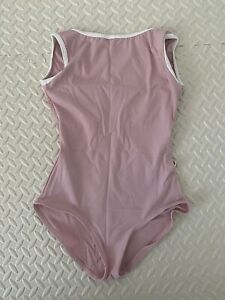 Yumiko leotard - Sofiane - C-dusty rose - sleeveless -Small - Dancewear