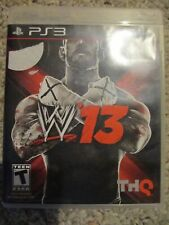WWE '13 (Sony Playstation 3, 2012) PS3 Wrestling Complete