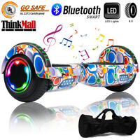 """6.5"""" Bluetooth Hoverboard Self Balancing Electric Scooter Birthday Gift UL Bag"""