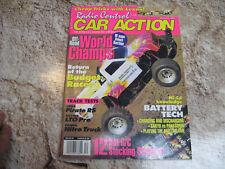 VINTAGE RC CAR ACTION MAGAZINE DEC 1993 WORLD CHAMPS PIRATE RS LTO PRO RC