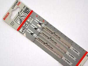 Bosch U345XF Pack of 3  Bi-Metal/U Shank Jigsaw Blade