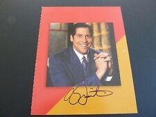 Roy Firestone Sports Host Autograph Signed 8x10 Book Photo PSA Beckett Guarantee