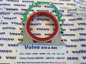 Volvo B18 & B20 Crankshaft Rear Seal Conversion P1800,122S,544,142,144,145 AQ130
