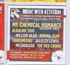 MY CHEMICAL ROMANCE / ALKALINE TRIO / MILLION DEAD +  ROCK SOUND CD Vol. 73