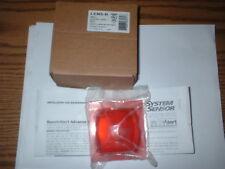 System Sensor LENS-R Wall Color Red Lens For Strobe BOX#93