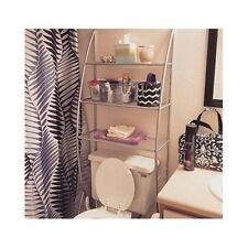 Bathroom Etagere Shelves Organizer Storage Over Toilet Space Saver Towel Rack