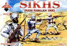 RED BOX 1/72 sikhs Boxeador Rebellion 1900 #72021