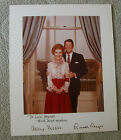 President Ronald and Nancy Reagan Autographed Printed Photograph