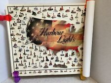 Harbour Lights Great Lighthouses Of The World Poster Younger Associates Calif.