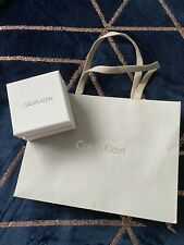 calvin klein gift bag and jewellery box