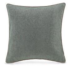 Croscill Euro Sham, Galleria Brown European Pillow Sham, Teal, Metallic, New