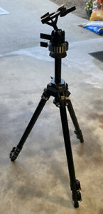 Manfrotto BOGEN 3221 Tripod with 3055 Must See!