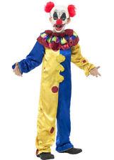 Kids Halloween Goosebumps Scary Clown Costume
