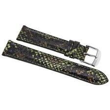 Michele 18Mm Camouflage Fashion Patent  Strap MS18AA350346