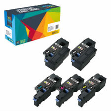 5-Pack Toner Cartridge Set for Dell E525w E525 525w 593-BBJX BBJU DPV4T H3M8P