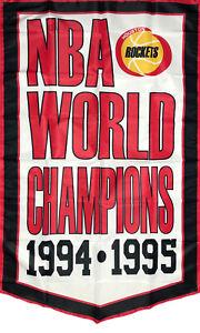 Houston Rockets NBA Championship Flag 3x5 ft Sports Banner Vertical Man-Cave Bar