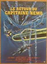LE RETOUR DU CAPITAINE NEMO J. Ferrer 1978 Affiche Originale 60x80 Movie Poster