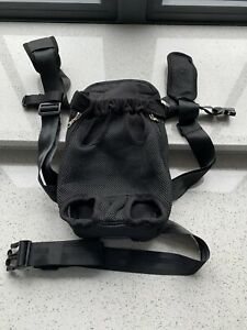Dog carrier backpack Medium Black With Waist Strap