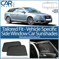 AUDI A6 AVANT 2004-2011 CAR SHADES UK TAILORED UV SIDE WINDOW SUN BLINDS