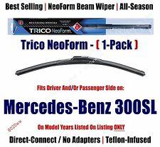 Super Premium NeoForm Wiper Blade Qty 1 fits 1990-1993 Mercedes-Benz 300SL 16240