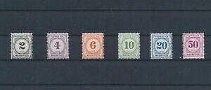 LN71646 Mauritius taxation stamps fine lot MNH