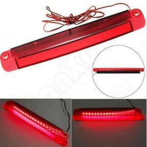 18 LED Car Tail Third Red Brake Stop Light Reversing Lights Strip Bar Warning