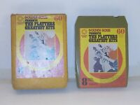 8 Track Cassette GOLDEN HOUR PRESENTSTHE PLATTERS GREATEST HITS