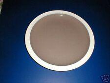 "Wedgwood China #7J56 Chocolate Brown Center 10"" Plate"